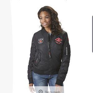 Weather gear Canada flight jacket